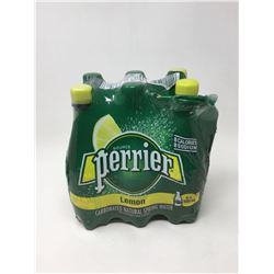 Lot of Perrier Lemon Natural Spring Carbonated Water (6 x 500ml)