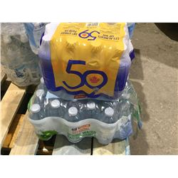 Lot of Natural Spring Water (approx 24)