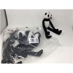 Lot of 18 inch Plush Pandas