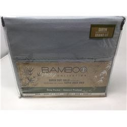 Queen Bamboo Sheet Set by Prestige Collection