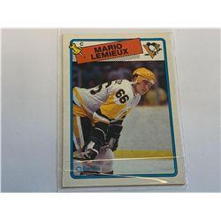 1988 O-pee-cheeMARIO LEMIUEXPittsburgh Penguins Card