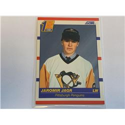 Score 1990 Jaromir Jagr1st round draft pick Card