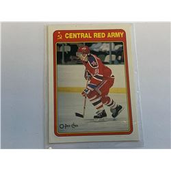 O-Pee-Chee 1990 SergeiFedorovCentral Red Army Card