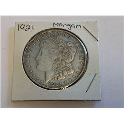 USA 1921 Morgan Silver Dollar