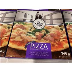 Passion of the Sea Tuna and Spinach Pizza (340g) Lot of 6
