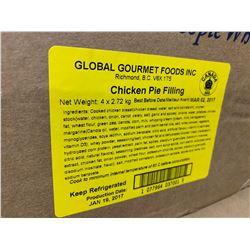 Case of Global Gourmet Foods Chicken Pie Filling (4 x 2.72kg)