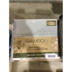 Bamboo Super Soft Solid Queen Sheet Set
