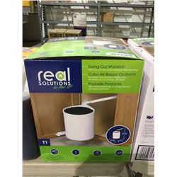 Real Solutions Swing-Out Wastebin