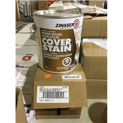 Case of ZinsserInterior/Exterior Primer Sealer (2 x 3.7L)