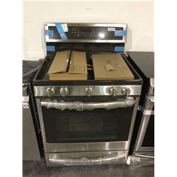 NEW Floor Model GE Stainless Gas Convection Oven with WIFI connect