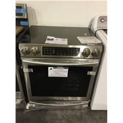 NEW Floor Model Electric Stainless Samsung Induction Range