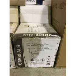 UberHaus4/6L Dual Flush One Piece High Efficiency Toilet