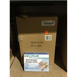 Case of Aid Plus Sterile Bandages (24 x 30)
