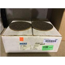 Case of Merit Abrasives Discs (25ct)