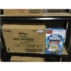 Case of Kellogg's Holiday Rice Krispies (12 x 440g)
