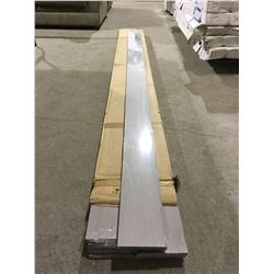 """Case of Barn Wood Moulding 8' x 5"""" x 1/2"""" (10 pieces)"""