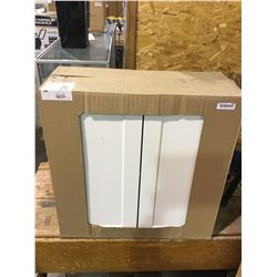 "EbsuSan Diego 2-Door Kitchen Cabinet - 30"" - White - Model:TLHG30-BLSD"
