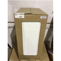 EbsuSan Diego 1-Door Kitchen Cabinet - White - Model:TLB15-BLSD