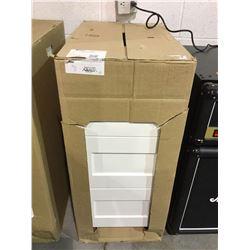 "EbsuSan Diego Base Cabinet - 3 Drawers - 15"" - White - Model:TLB3T15-BLSD"