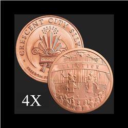 5 oz Election .999 Fine Copper Bullion Round