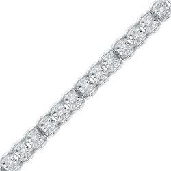 Diamond Tennis Bracelet 1/2 Cttw 10kt White Gold