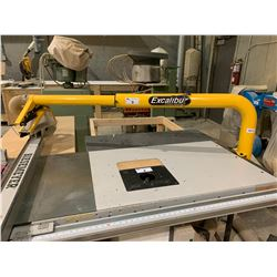EXCALIBUR BY GENERAL INTERNATIONAL VENTED TABLE SAW SAFETY GUARD & EXTENSION TABLE