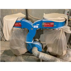 MAXWOOD MW-SMDC34B DUAL BAG MOBILE DUST COLLECTION SYSTEM