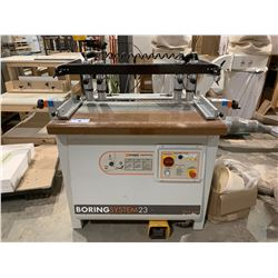 MAGGI ENGINEERING 23 4 HEAD 32MM BORING SYSTEM WITH FOOT CONTROL