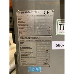 BIESSE ARTECH FSE 21 HEAD DRILL & DOWEL MACHINE 3 PH, 4 CLAMP CNI DIGITAL DISPLAY WITH SARCG