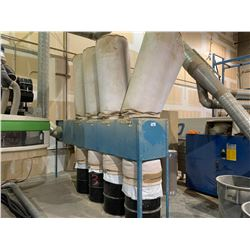 BELFAB MODEL 1W 4 BAG DUST COLLECTION SYSTEM