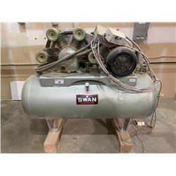 SWAN MODEL MW-415 120 GALLON HORIZONTAL AIR COMPRESSOR