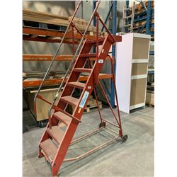 RED GIRAFFE MOODY SI 8' MOBILE WAREHOUSE STAIRS