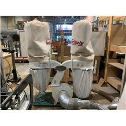 GRIZZLY INDUSTRIAL G1030Z2P MOBILE DUAL BAG DUST COLLECTION SYSTEM