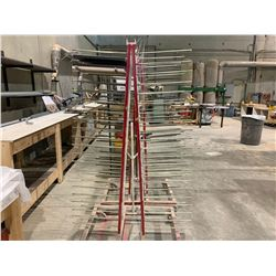 RED MOBILE DRYING RACK