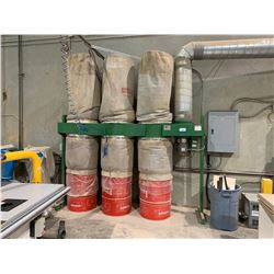 DUST TECHNOLOGIES DT-100 3 BAG 10HP DUST COLLECTION SYSTEM
