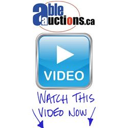 VIDEO PREVIEW - CABINET MANUFACTURING EQUIPMENT AUCTION