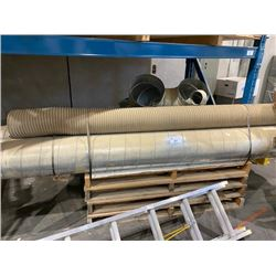 1 PALLET OF DUST COLLECTOR PIPES