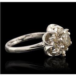 14KT White Gold 3.44 ctw Diamond Jewelry Suite