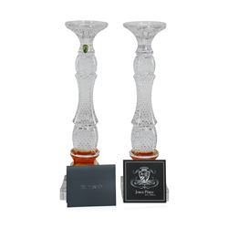 Waterford Golden Age Crystal Candlesticks