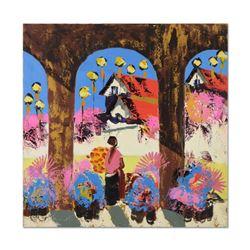 Shadows of Tlaquepaque by Henrie (1932-1999)