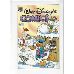 Walt Disneys Comics and Stories Issue #596 by Gladstone Publishing