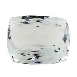 7.60 ct.Natural Rectangle Cushion Cut Aquamarine