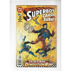 Superboy Issue #58 by DC Comics