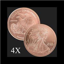5 oz Walking Liberty .999 Fine Copper Round