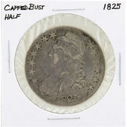 1825 Capped Bust Half Dollar Coin