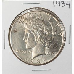 1934 $1 Peace Silver Dollar Coin