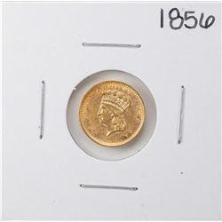 1856 $1 Indian Princess Head Gold Dollar Coin