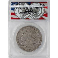 1894-S $1 Morgan Silver Dollar Coin ANACS Genuine
