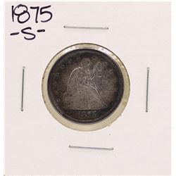 1875-S Seated Twenty Cent Piece Coin