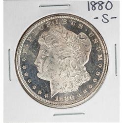 1880-S PL $1 Morgan Silver Dollar Coin